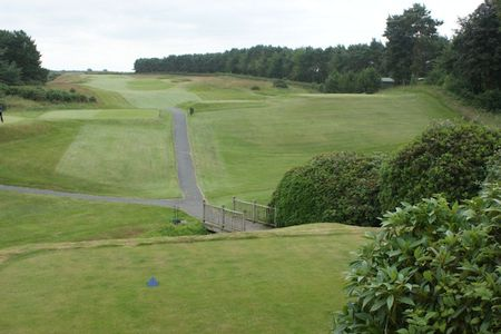 Delamere Forest Golf Club hole 1
