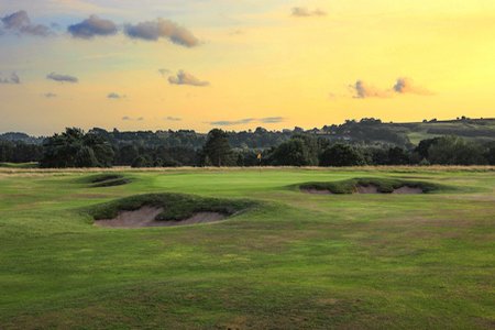 Delamere Forest Golf Club hole 7